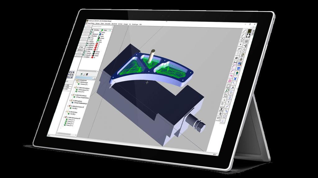 MazaCAM CAD CAM mit Mazatrol Ausgabe für alle Mazak Maschinen