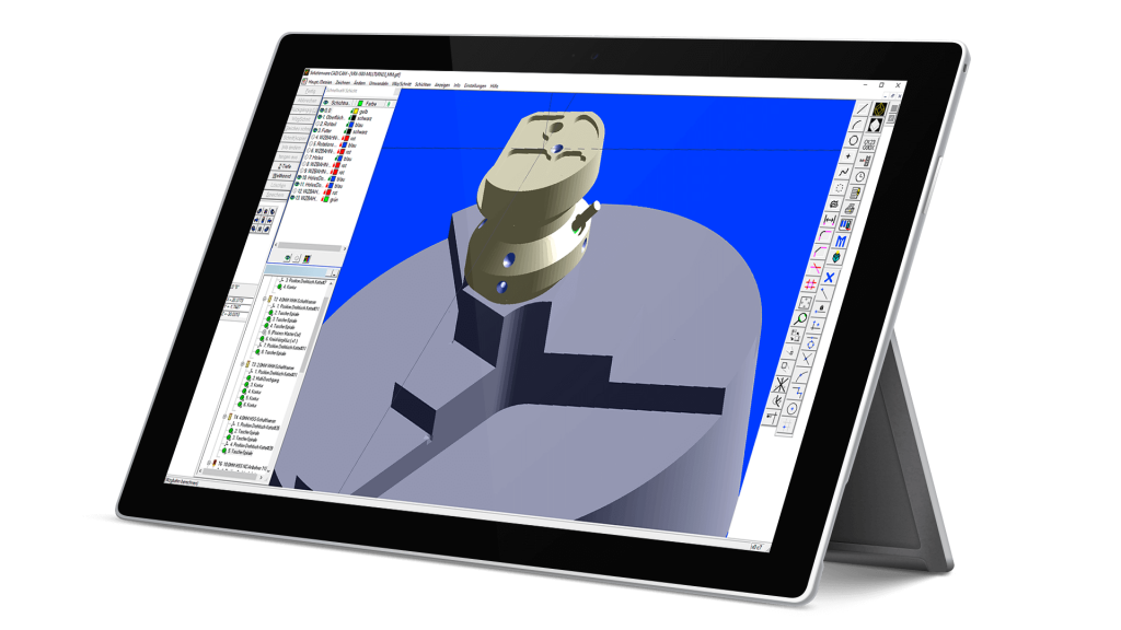 MazaACM CAD CAM Applictaions for Mazatrol output