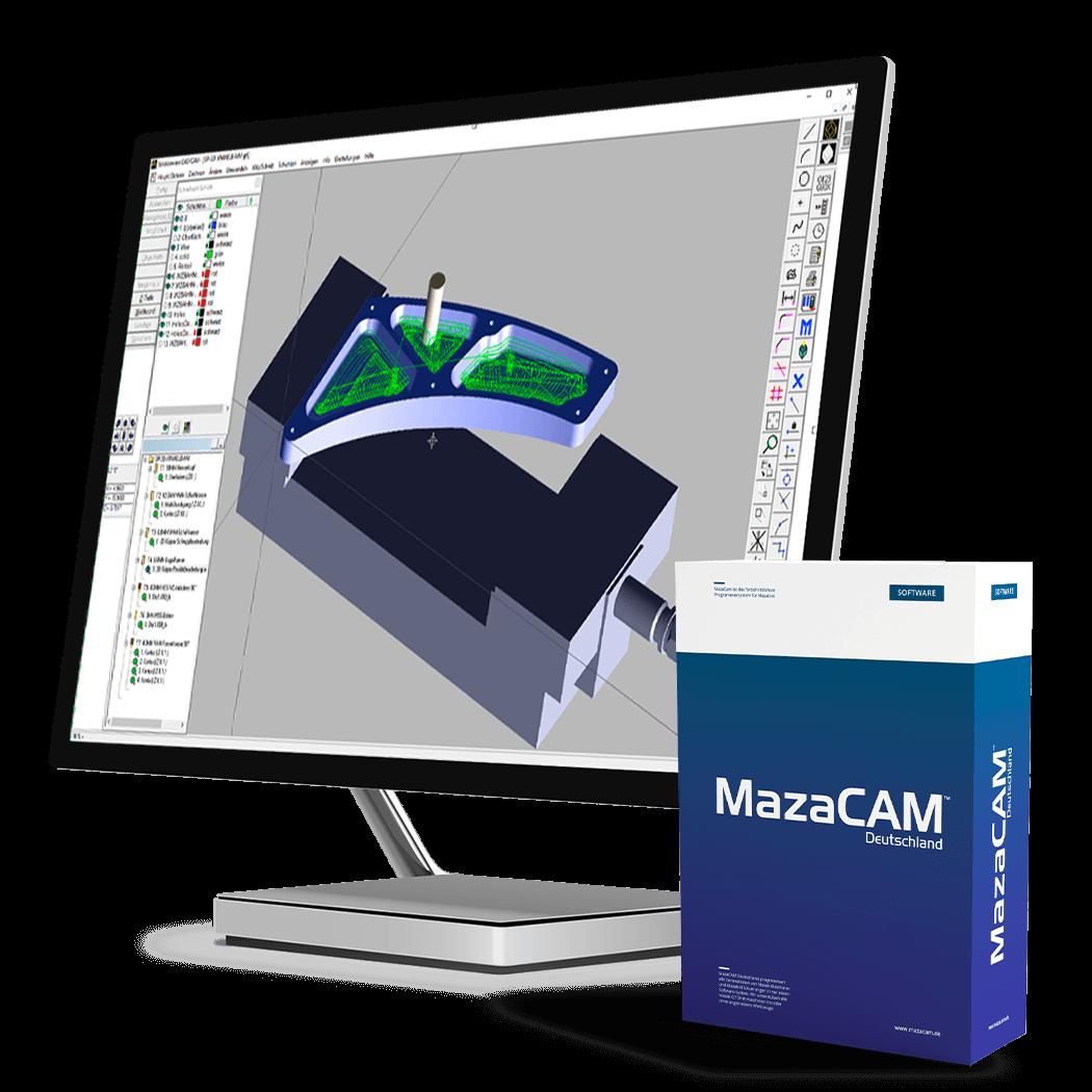 MazaCAM Software für MAzak