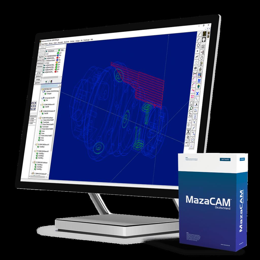 MazaCAM Lösungen:  Softwarepakete und Dienstleitungen für Mazak