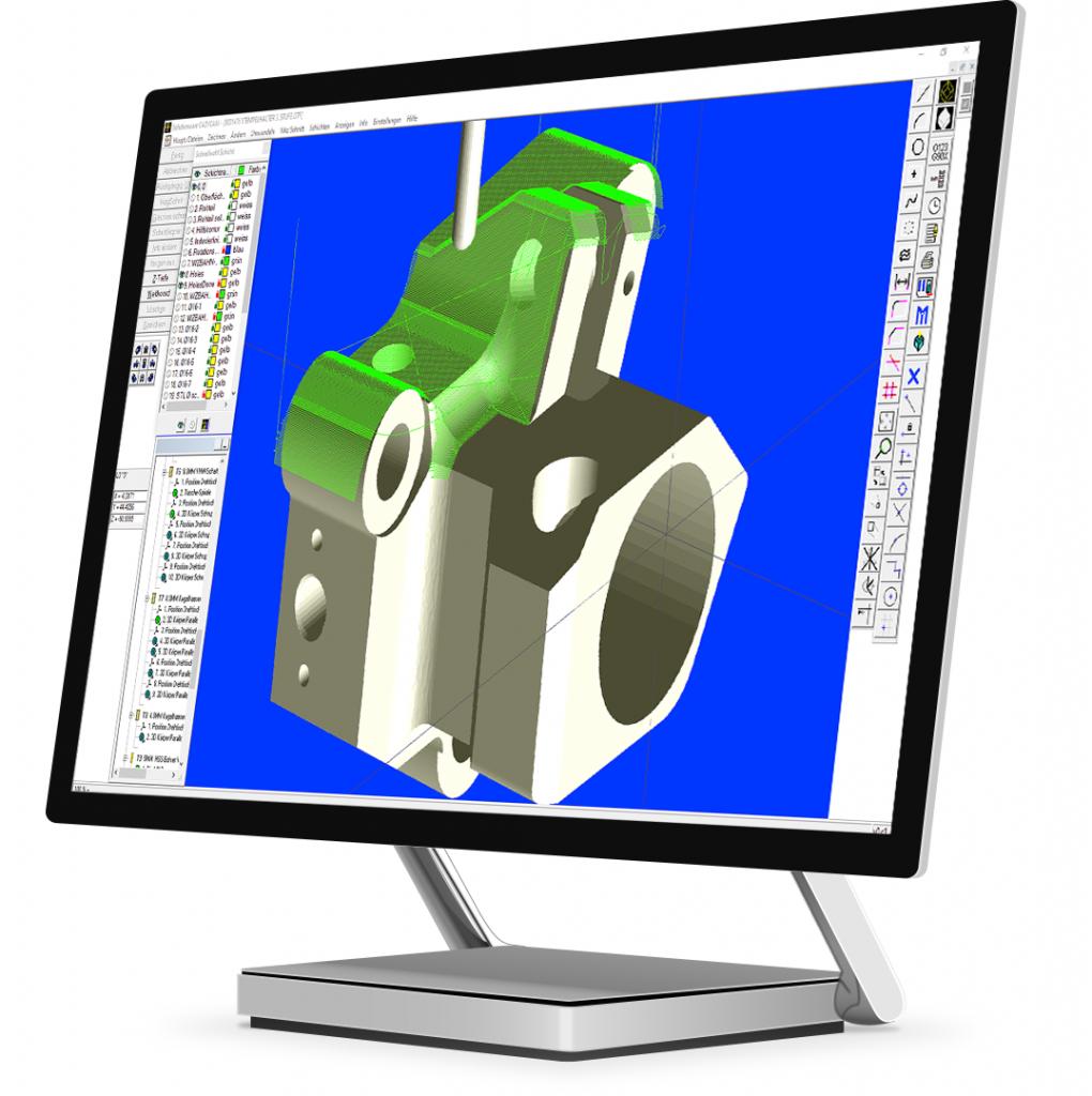 Mazak Auftragsprogrammierung von komplexen Mazatrol Programmen und 3D Bearbeitungen mit MazaCAM