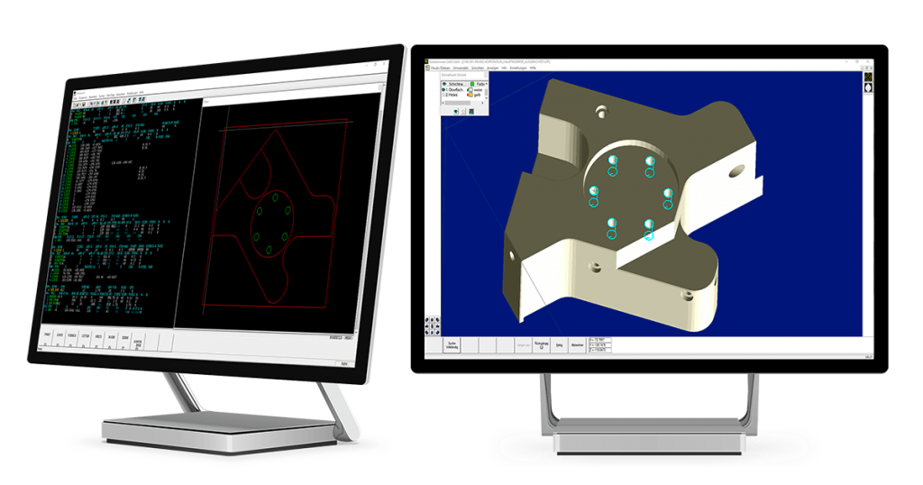 Mazacam Mazatrol CAD-Import für Mazak Fräsmaschinen
